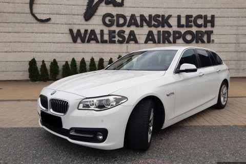 BMW 5 automat kombi diesel + GPS