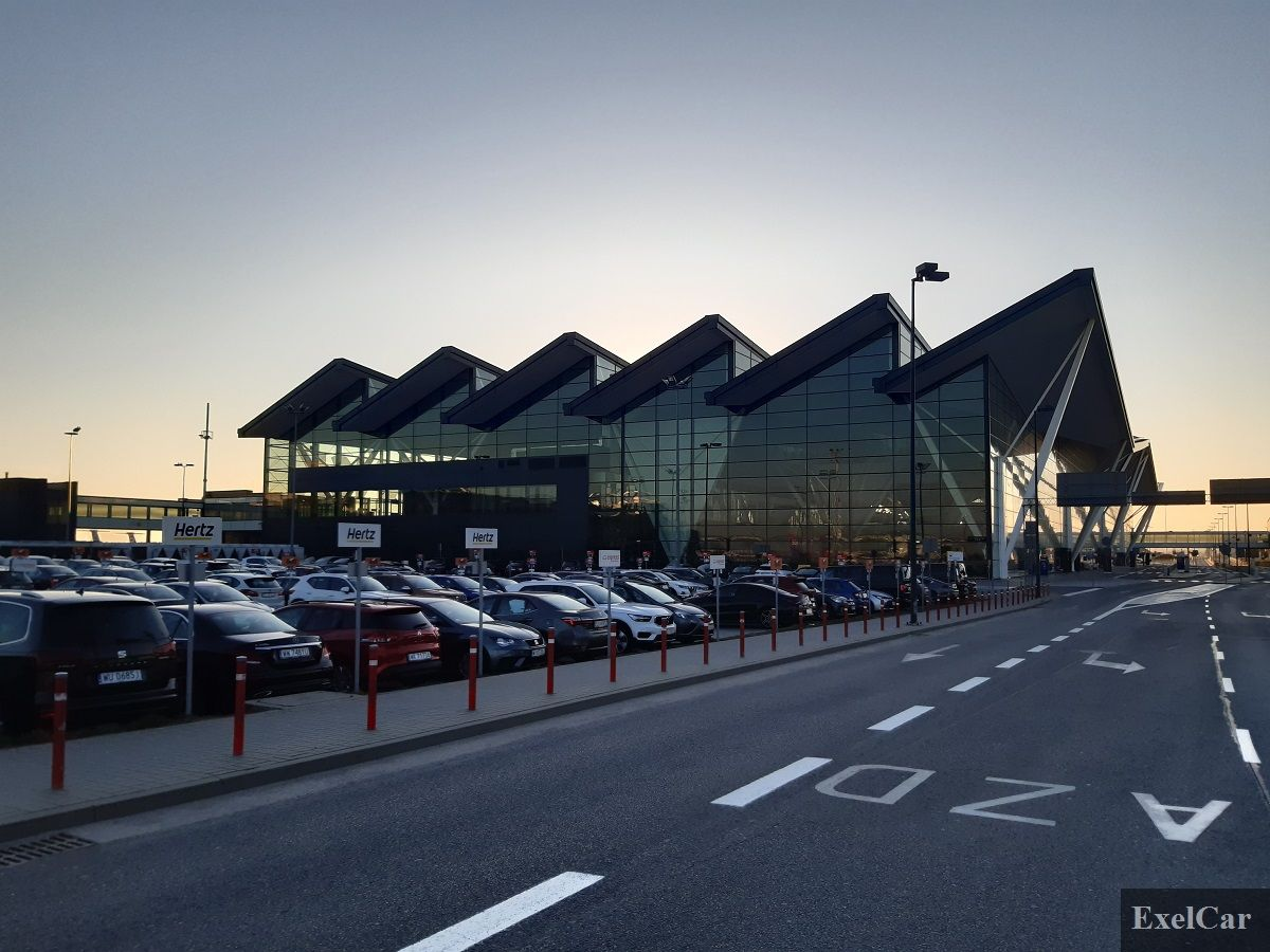 Podstawienie i odbiór wynajętego auta Exelcar