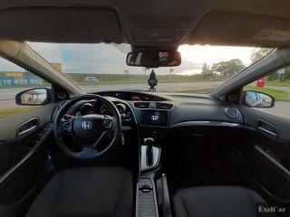 Wynajmij hondę civic (kombi  z nawigacją ) | Wypożyczalnia Samochodów Exelcar |   - zdjęcie nr 4