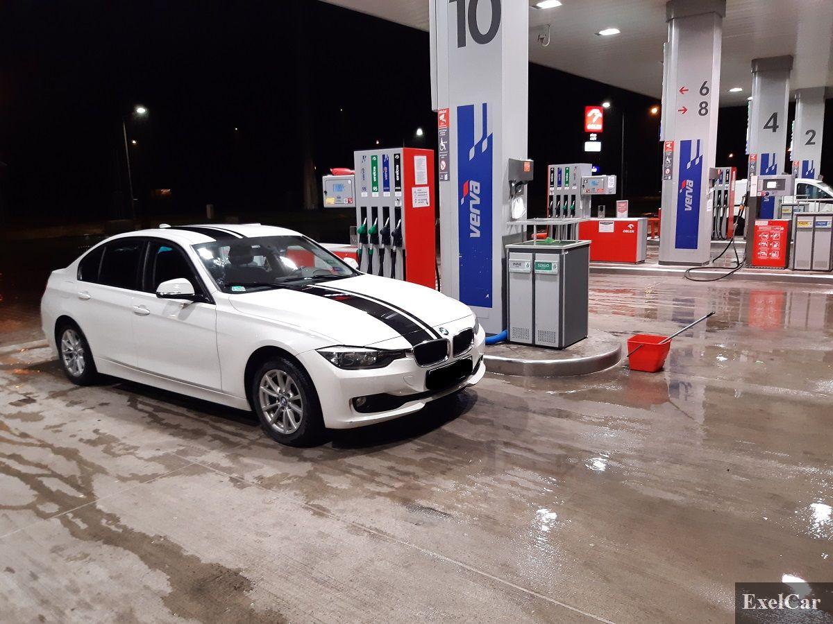 Tankowanie auta - wypożyczalnia samochodów Exelcar